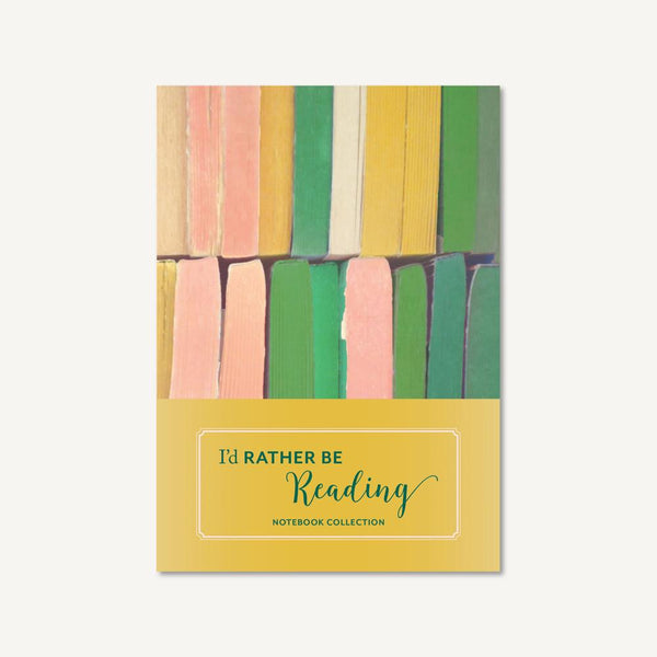midoco.ca: Chronicle Books Notebook 3pk-Reading