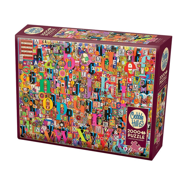 Cobble Hill Shelley's ABCs Puzzle 2000pc