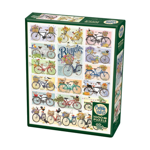 Cobble Hill Bike Seasons Puzzle 1000pc