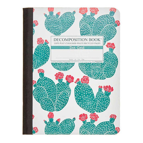 midoco.ca: Dotgrid Decomposition Book - Beavertail Cactus