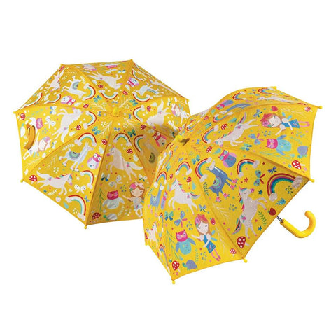 midoco.ca: Floss & Rock Kid's Colour-Change Umbrella - Rainbow Fairy