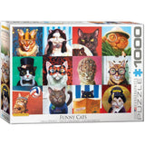 Funny Cats 1000pc Puzzle, Eurographics