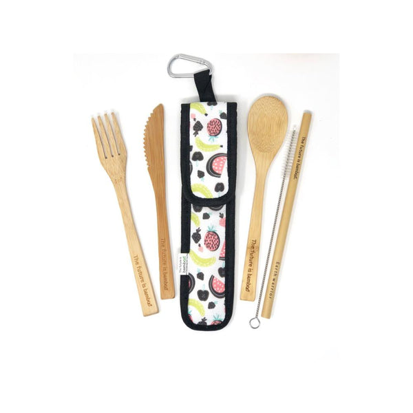 The Future is Bamboo Reuseable Utensil Set
