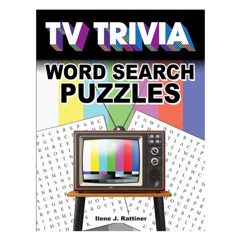 Dover TV Trivia Word Search Puzzles