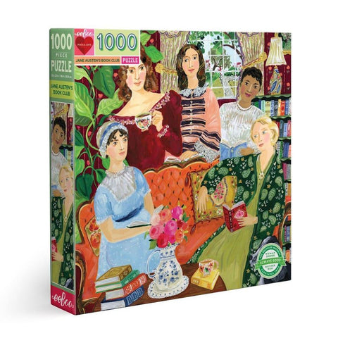 Eeboo 1000pc Puzzle - Jane Austen Book Club