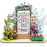 midoco.ca: Robotime DIY Model Kit - Garden Entrance