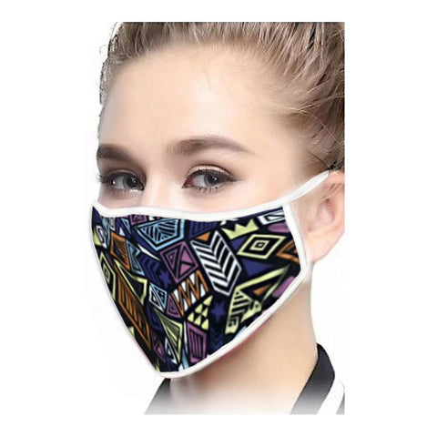 CTG Washable Snug Fit Face Mask - Modern Art