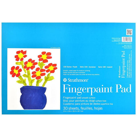 Midoco.ca: Strathmore Finger Paint Pad, 30 sheets 12x18""