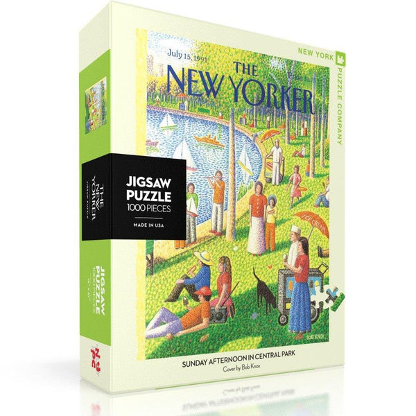 New York Puzzle 1000pc Sunday In Central Park
