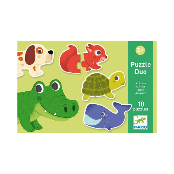 Midoco.ca:Djeco Animal Puzzle Duo