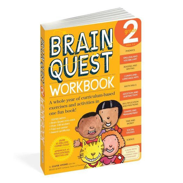 midoco.ca:Thomas Allen Brain Quest Workbook Grade 2