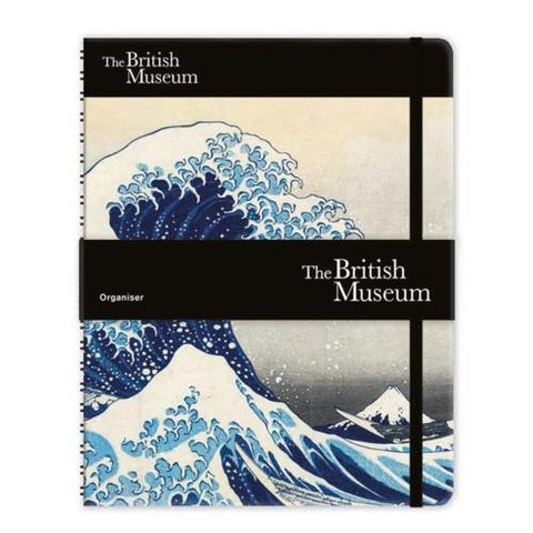 midoco.ca: Museums & Galleries Undated Planner & Notebook Hokusai