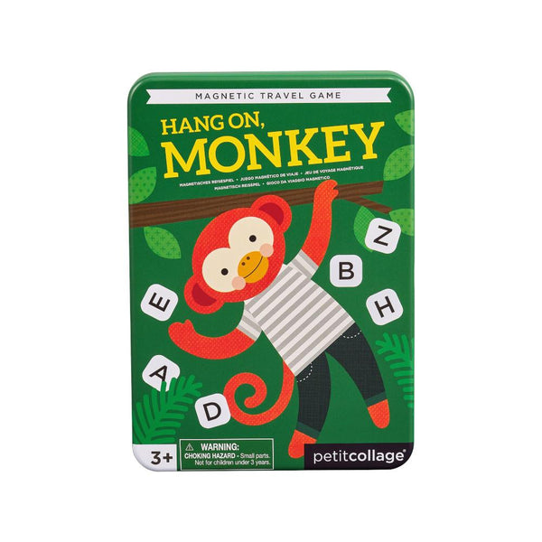 Midoco.ca:Petit Collage Hang On, Monkey Magnetic Travel Game