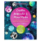 Creative Watercolor & Mixed Media Instruction Book