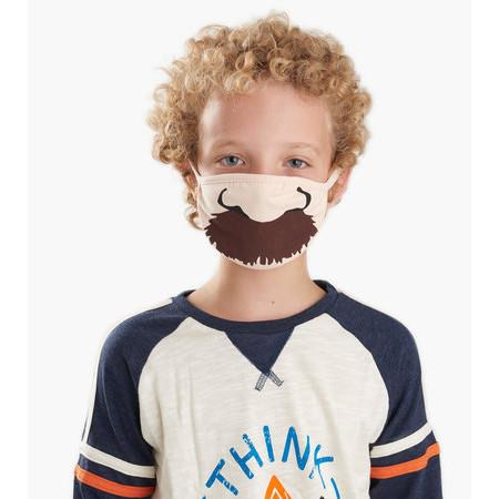 Little Blue House Kid's 'Stache Face Mask