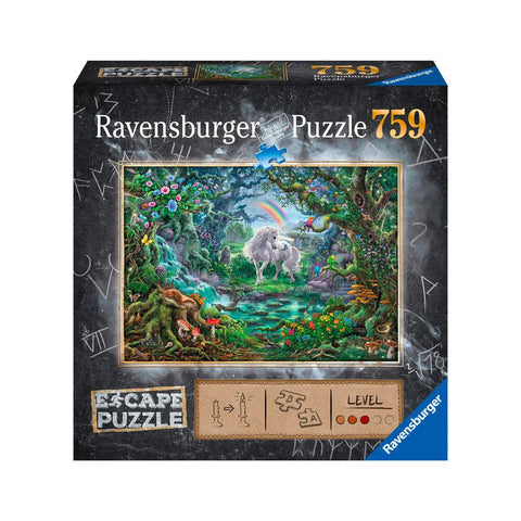 Midoco.ca:Ravensburger The Unicorn Escape Puzzle