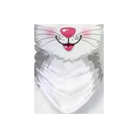 Midoco.ca: Gaiter Face Mask Youth-Sized Cat