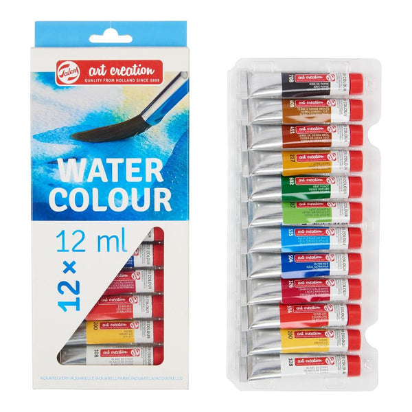 Midoco.ca: Talens Art Creations 12x12ml Watercolour Paint Set