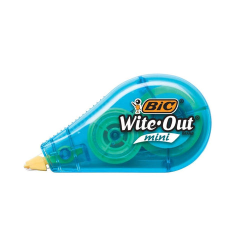 Bic Correction Tape Wite Out Mini