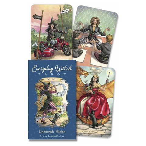 midoco.ca: Llewellyn Mini Everyday Witch Tarot Deck