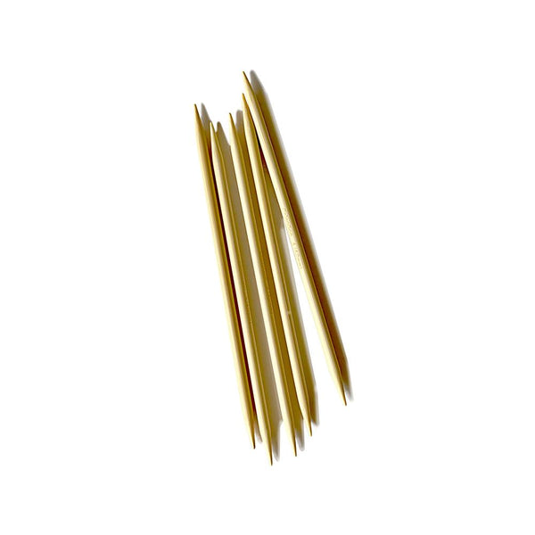"Chiaogoo US6 Bamboo 5"" Knitting Needles - 5pk"