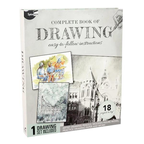 SpiceBox Complete Book of Drawing Kit