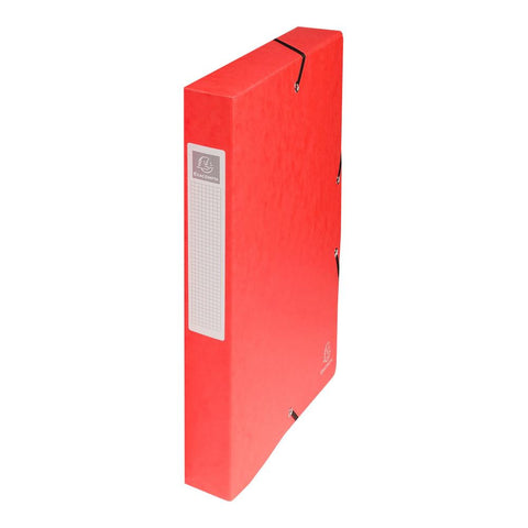 Midoco.ca: Exacompta Filing Box Red 1.5""