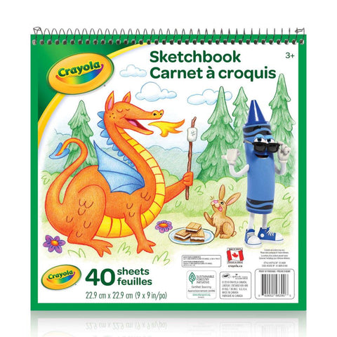 midoco.ca: Crayola Sketchbook Drawing Pad