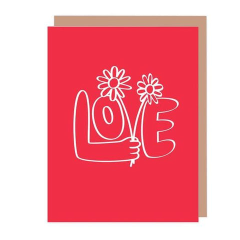 Midoco.ca: Badgebomb Love Greeting Card
