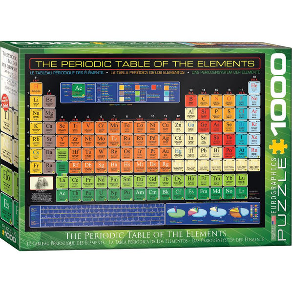 Midoco.ca: Eurographic Period Table 1000pc Puzzle