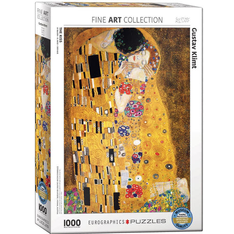 "Eurographics Klimt 1000 Piece Puzzle ""The Kiss"""