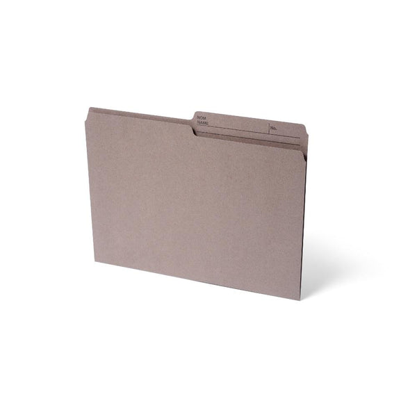 Midoco.ca: File Folders Letter Size 100box Kraft Brown