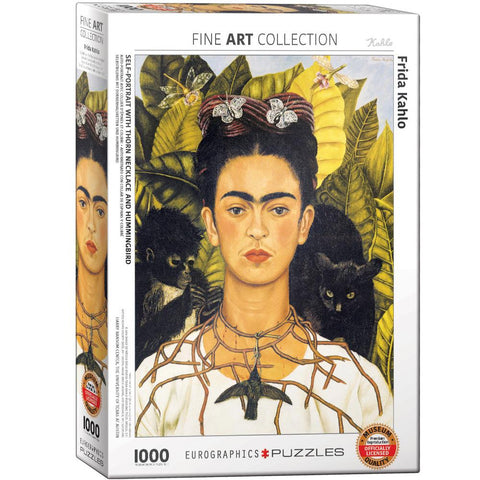 Eurographics 1000pc Puzzle - Frida Khalo: Self Portrait