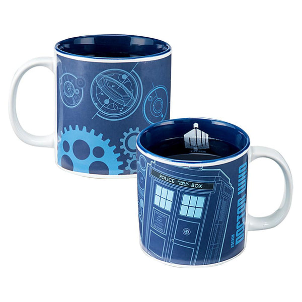 Midoco.ca: Doctor Who Heat-Reactive Mug
