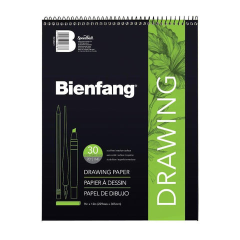 "Midoco.ca: Bienfang Drawing Pad Coilbound 9""x12"""