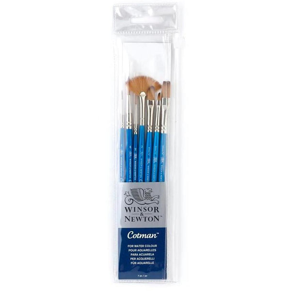 Winsor & Newton Cotman Brush 7pk Set