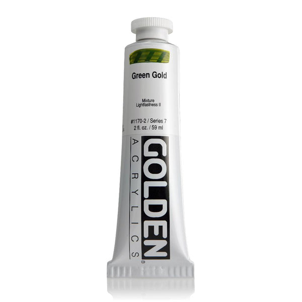 Midoco.ca: Golden Heavy Body Acrylic Paint 2oz Grn Gold