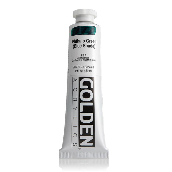 Midoco.ca: Golden Heavy Body Acrylic Paint 2oz Phthalo Green BS