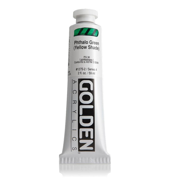 Midoco.ca: Golden Heavy Body Acrylic Paint 2oz Phthalo Green YS