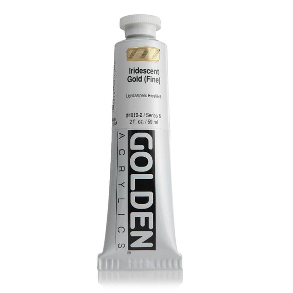 Midoco.ca:  Golden Heavy Body Acrylic Paint 2oz Iridescent Gold (Fine)