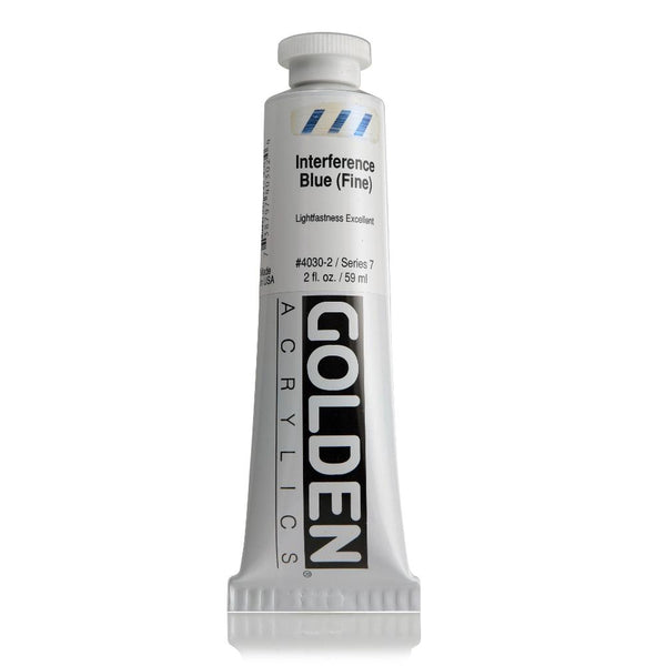 Midoco.ca: Golden Heavy Body Acrylic Paint 2oz Iridescent Silver