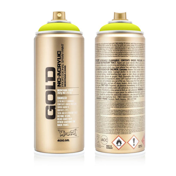 Montana Gold 400mL Spray Paint - Acid Green