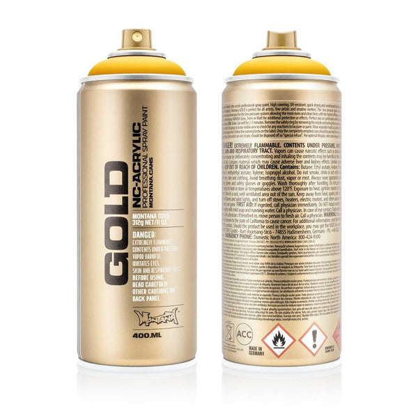 Montana Gold 400mL Spray Paint - Yellow Cab