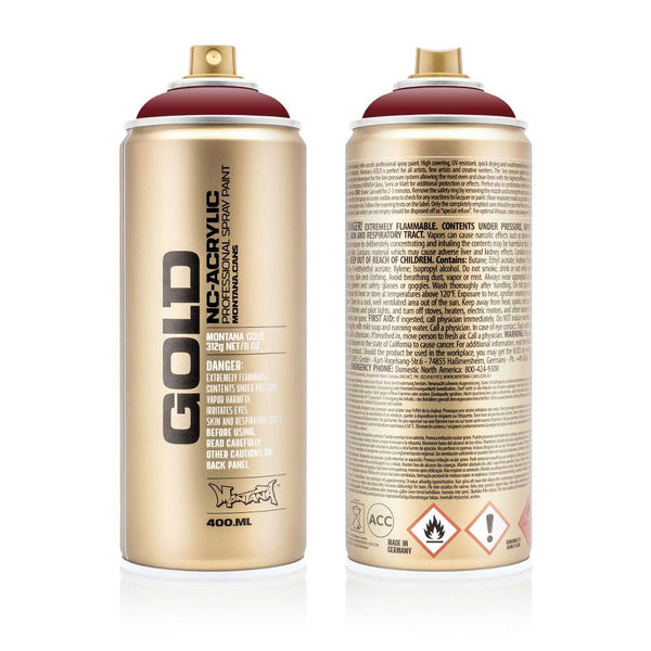 Montana Gold 400mL Spray Paint - Royal Red