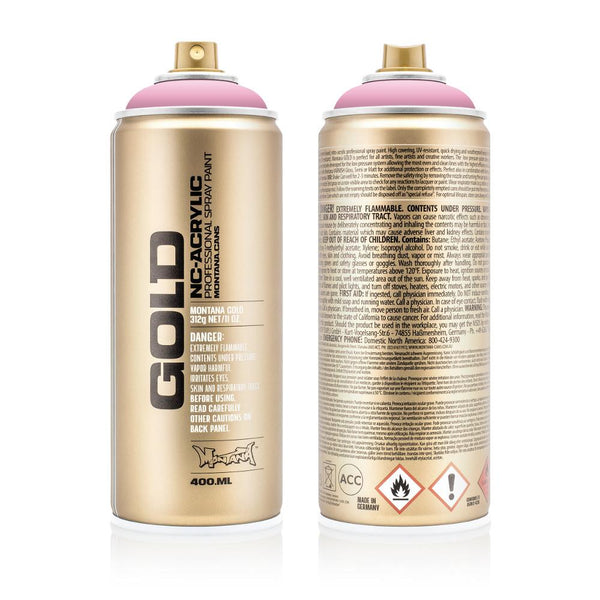 Montana Gold 400mL Spray Paint - Frozen Raspberry
