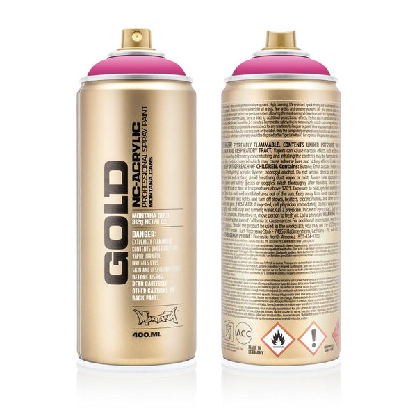 Montana Gold 400mL Spray Paint - Pink Pink