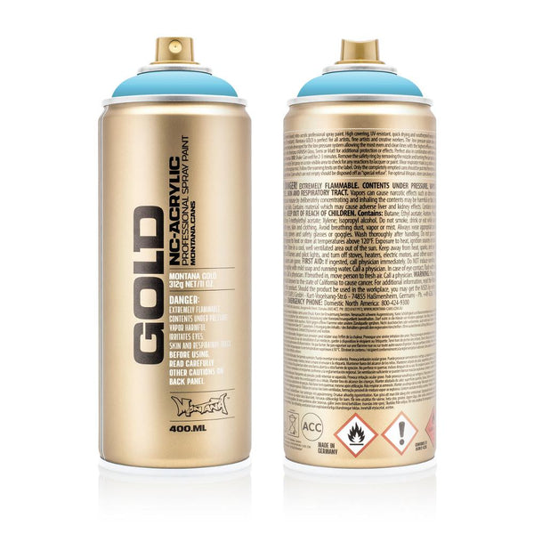 Montana Gold 400mL Spray Paint - Baby Blue