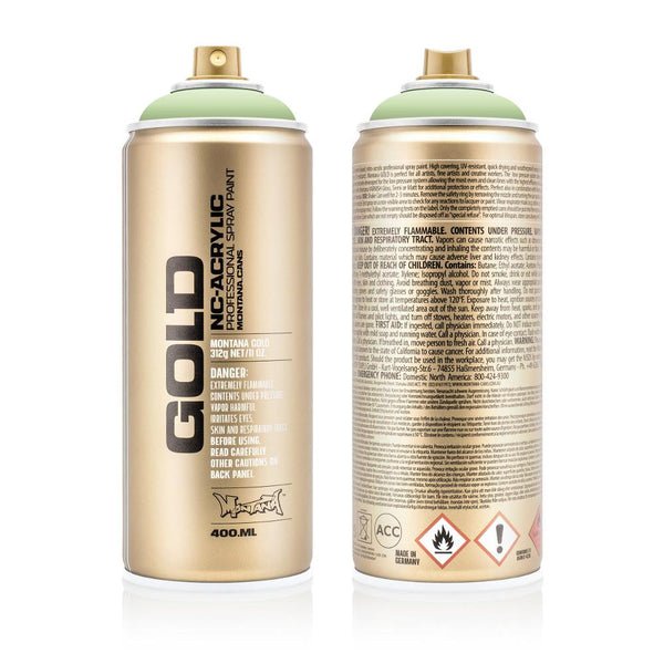 Midoco.ca: Montana GOLD 400mL Spray Paint - Linden Green