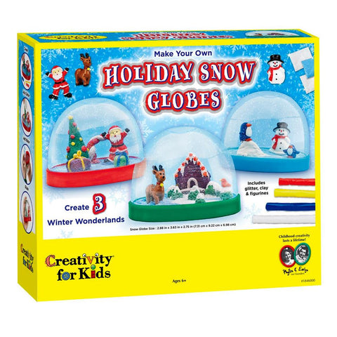 Creativity for Kids Snow Globes Kit