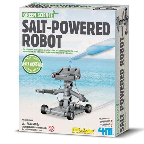 Midoco.ca: Salt-Powered Robot Kit